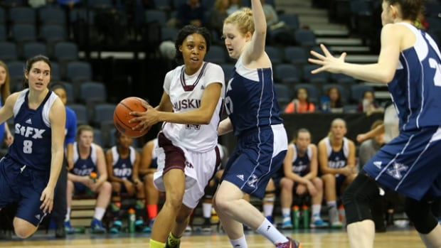 The SMU Huskies women's basketball team heads to the ArcelorMittal Dofasco CIS women's basketball Final Eight in Fredericton.