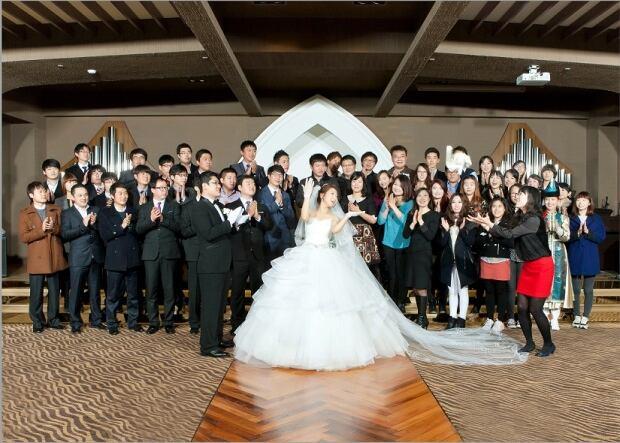 Korean Wedding Guests