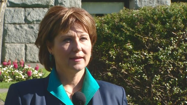 B.C. Premier Christy Clark has committed to working with B.C. Green Party leader Andrew Weaver to pass his bill requiring post-secondary institutions to have sexual assault policies.