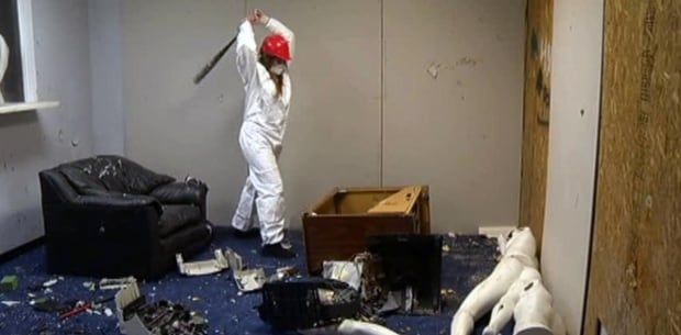 Anger Room Office