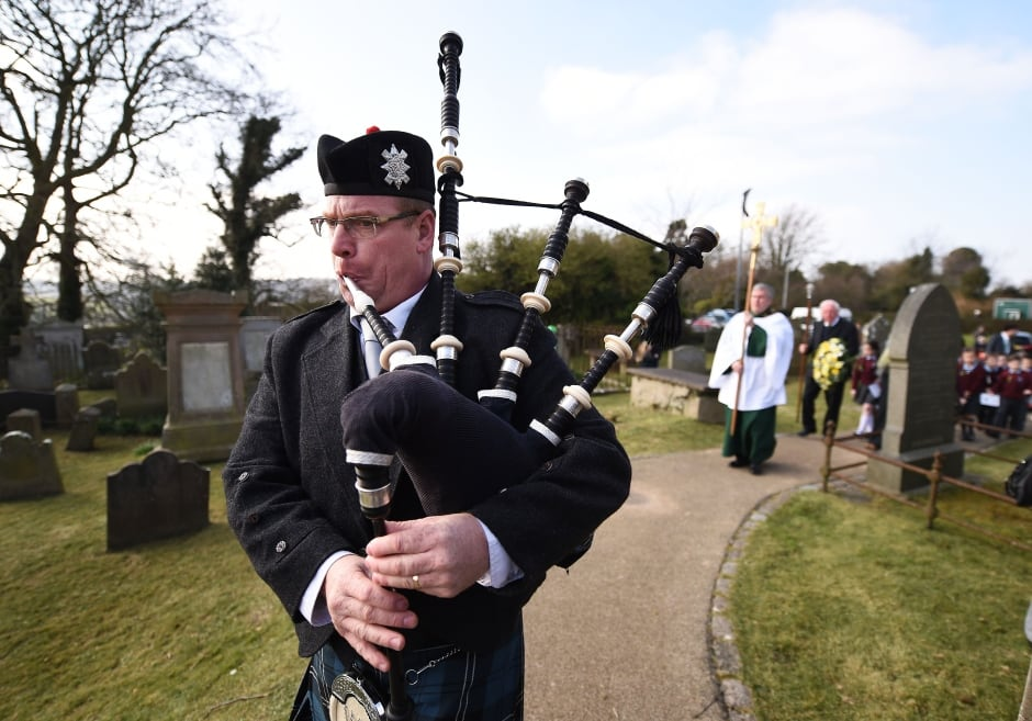 St Patricks Day service of remembrance northern Ireland March 17 2016