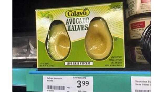 Christine Kizik shared this image of avocado halves for sale at a Thornhill, Ont., Sobeys.