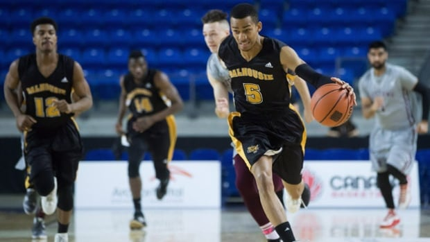 The Dalhousie Tigers pulled off the upset by defeating the Ottawa Gee-Gees 87-83 at the CIS men's basketball championship quarter-finals.