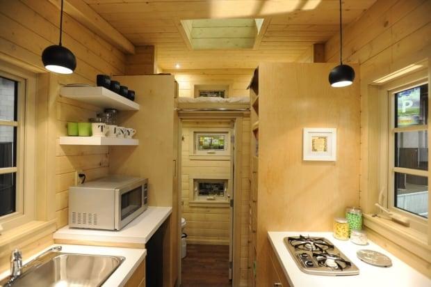 Tiny house kitchen Regina