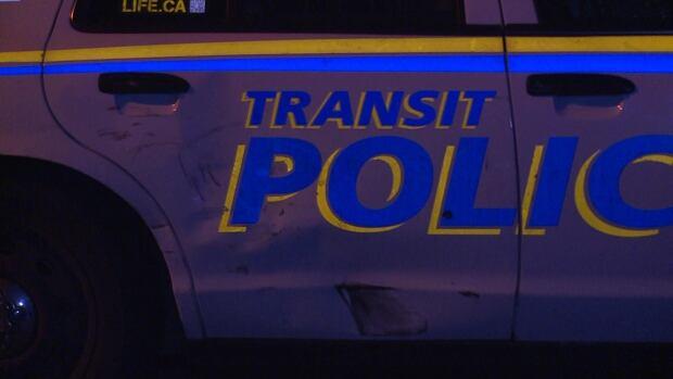 TRANSIT POLICE HITS MOTORBIKE