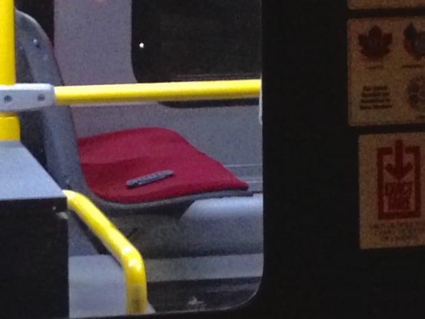 knife on TTC bus commandeered to movies