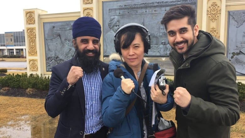 Banned from the ring, bearded Sikh boxer fights religious