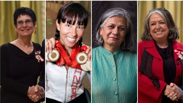 Four women were among the seven people appointed to the Senate to sit as independents by Prime Minister Justin Trudeau.