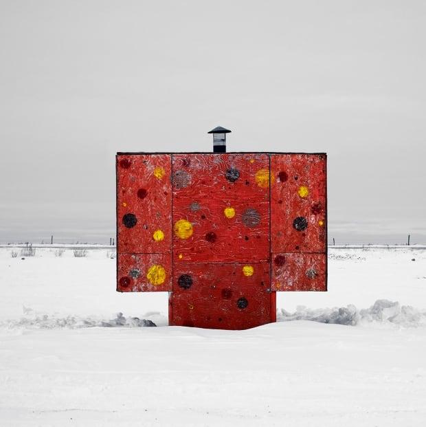 Saskatchewan Ice Shacks take 2 #2