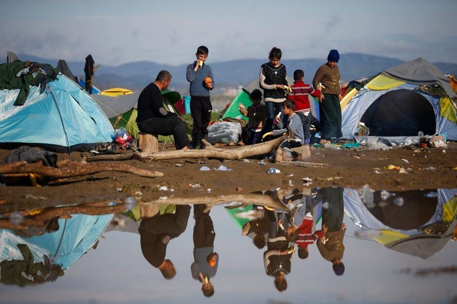 WIP EUROPE-MIGRANTS Idomeni camp GREECE-MACEDONIA March 11 2016