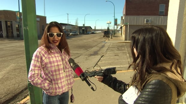 Hillary Cote, from Cote First Nation, approached our camera in Kamsack and opened up about her own drug use.