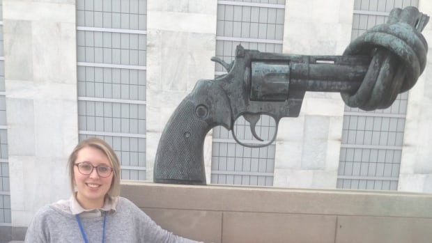Rachele Conway at the United Nations.