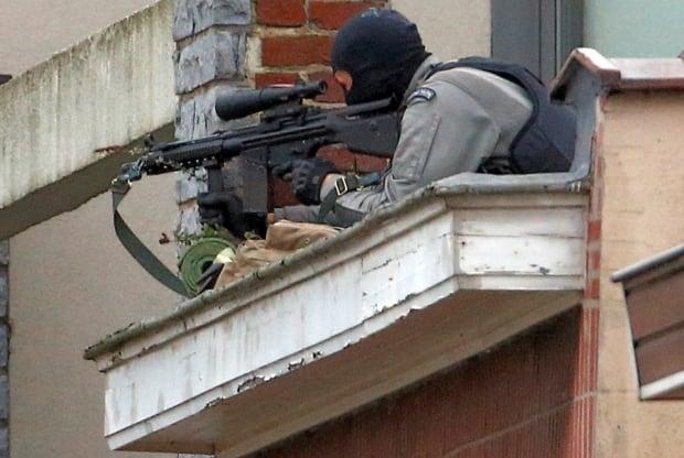 Belgium anti-terror raid police