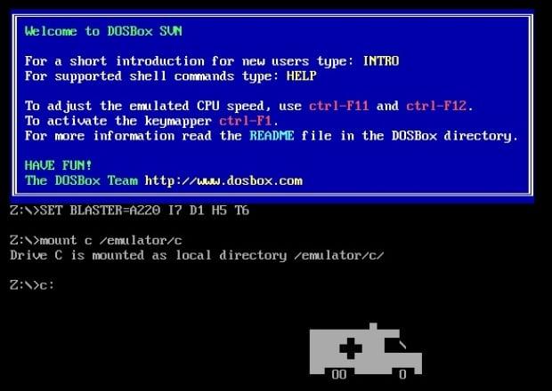 MS DOS Ambulance virus1