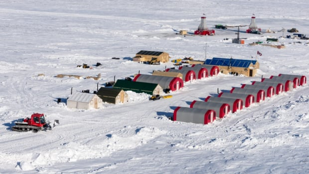 A camp at the Kennady North diamond exploration project, northeast of Yellowknife. According to figures from Natural Resources Canada, exploration spending in the N.W.T. this year will be a little more than half what it was in 2015.