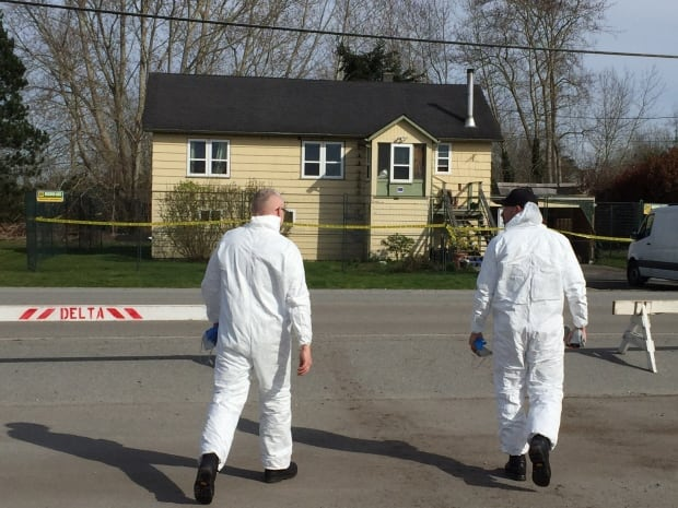 Tsawwassen house investigation