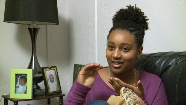 Méshama Eyob-Austin says she learned that 'black is beautiful.'