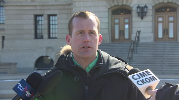 The NDP's Trent Wotherspoon, elected in Regina Rosemont on April 4, will be the new leader of the official Opposition.