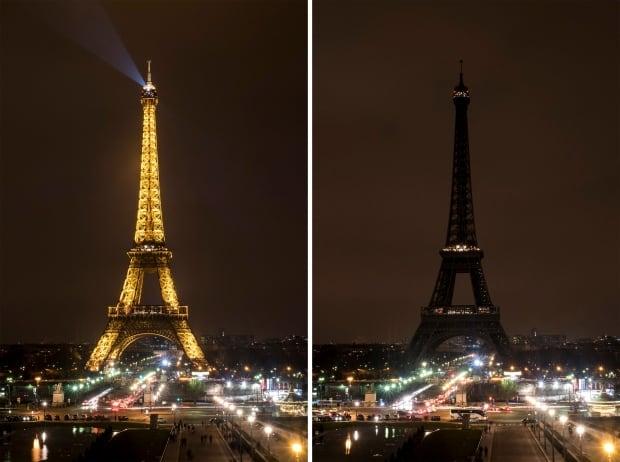 France Earth Hour