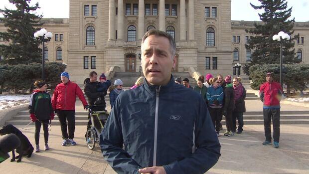 Saskatchewan NDP leader Cam Broten says the Sask. Party's platform is 'boring.'