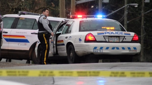 A suspect is in custody following a possible homicide in Surrey