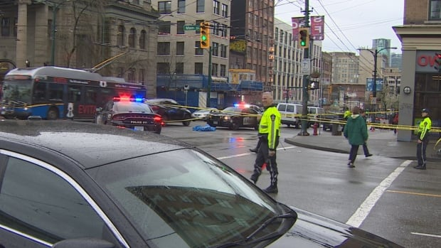 Vancouver police are investigating after a man was fatally stabbed at Main 