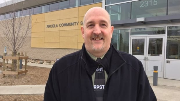 Jeff Perry is the president of the Regina Public Schools Teachers' Association.
