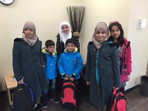 Regina - Syria - refugees - school - Arcola school
