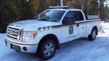 Ontario conservation officer truck