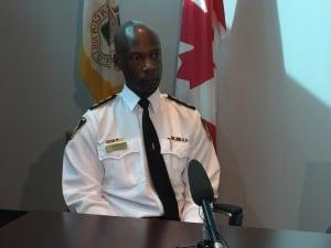 Winnipeg Police Chief Devon Clunis