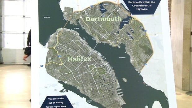 The green parts of this map show the areas that would be affected by the Centre Plan.