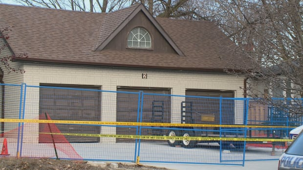 A man has been charged with murder after York Regional Police say a dismembered male body was found inside this home on Laureleaf Road in Thornhill.