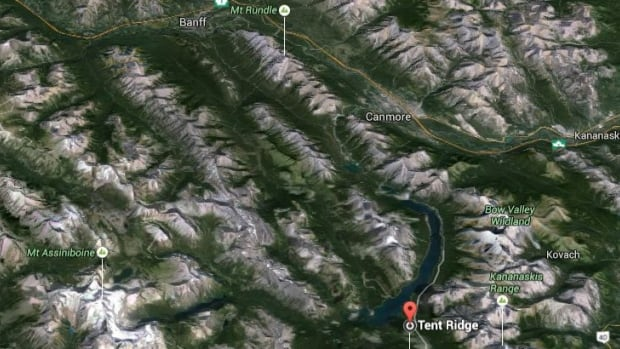A snowshoer was killed in an avalanche on Tent Ridge in Kananaskis Country on Sunday, officials say.