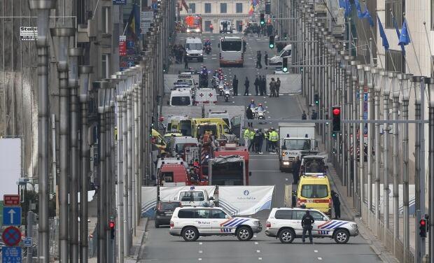 BELGIUM BRUSSELS METRO EXPLOSION