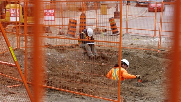 Construction on the LRT has been halted in uptown Waterloo after a section of corduroy road was discovered under King Street.