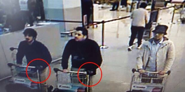 Brussels airport bombing suspects