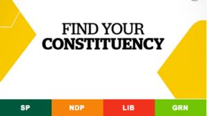 SK Find Your Constituency