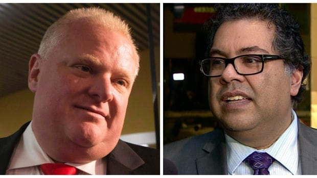Calgary Mayor Naheed Nenshi paid tribute to the late Rob Ford, former mayor of Toronto, on Tuesday as a man who clearly loved his city.