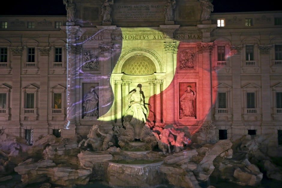 BELGIUM-BLAST global reaxtion Rome ITALY March 22 2016