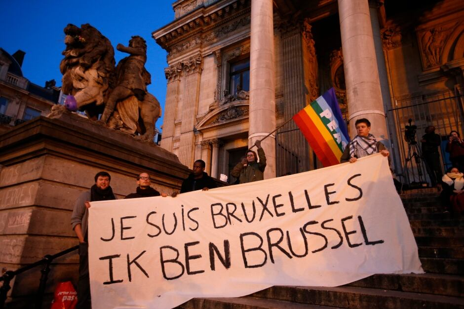 BELGIUM-BLAST global reaction I am Brussels March 22 2016