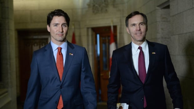 Prime Minister Justin Trudeau and Finance Minister Bill Morneau continue to pitch the virtues of their first Liberal budget across Canada this week, but that won't include paid government ads, Morneau says.