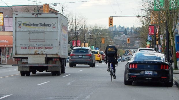 Cycling advocates say 20 per cent of Grandview-Woodlands residents use bikes for transportation.