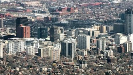 Hamilton cityscape