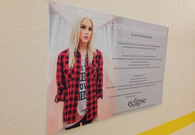 Eclipse Model Ad Poster