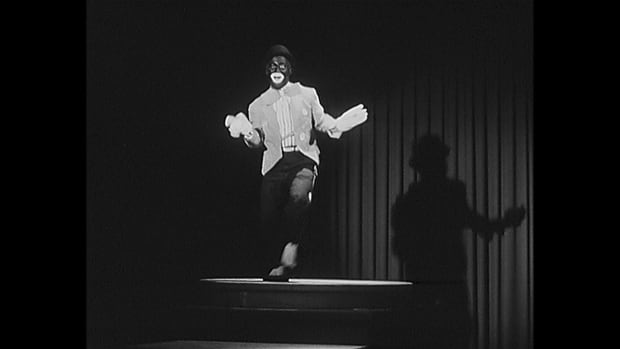 Blackface performer in Jonquière