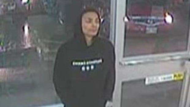 Winnipeg police say this man is a suspect in the robbery of a woman in the North End on March 15.