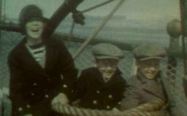 Image from Quebec film footage dating back to 1929