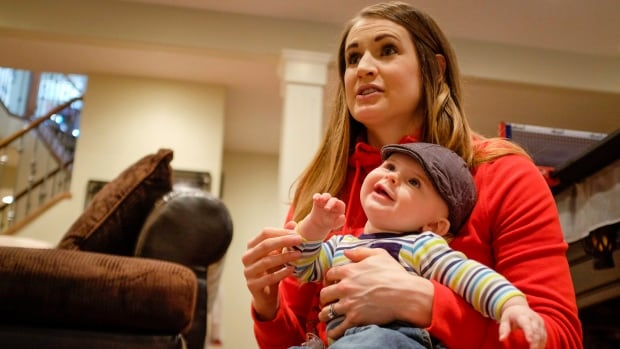 Calgary's Meaghan Mikkelson returns to Canada's women's national hockey team for the world championship in Kamloops, B.C., for the first time since the 2014 Olympics after the birth of her son Calder, now six months old.