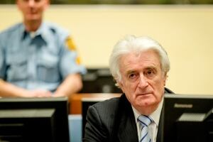 APTOPIX Netherlands War Crimes Karadzic