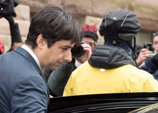 Ghomeshi Trial leaves court March 24 2016